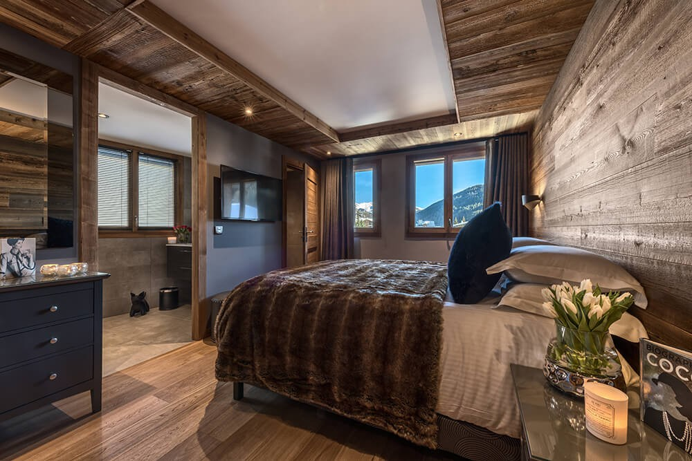 Les Gets Location Chalet Luxe Gedrute Chambre 3
