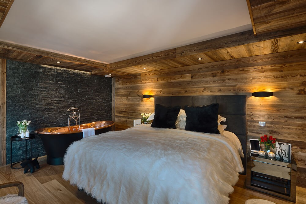 Les Gets Location Chalet Luxe Gedrute Chambre 4