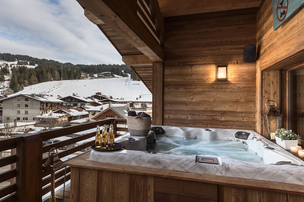 Les Gets Location Chalet Luxe Gedrute Jacuzzi