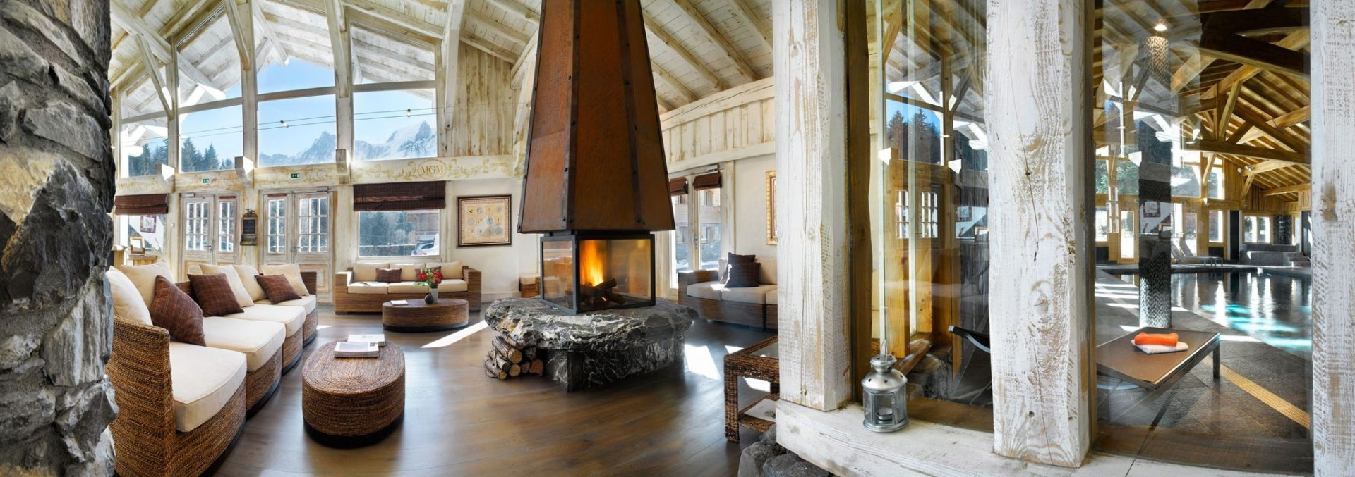 Les Houches Location Appartement Luxe Jacinthe Accueil