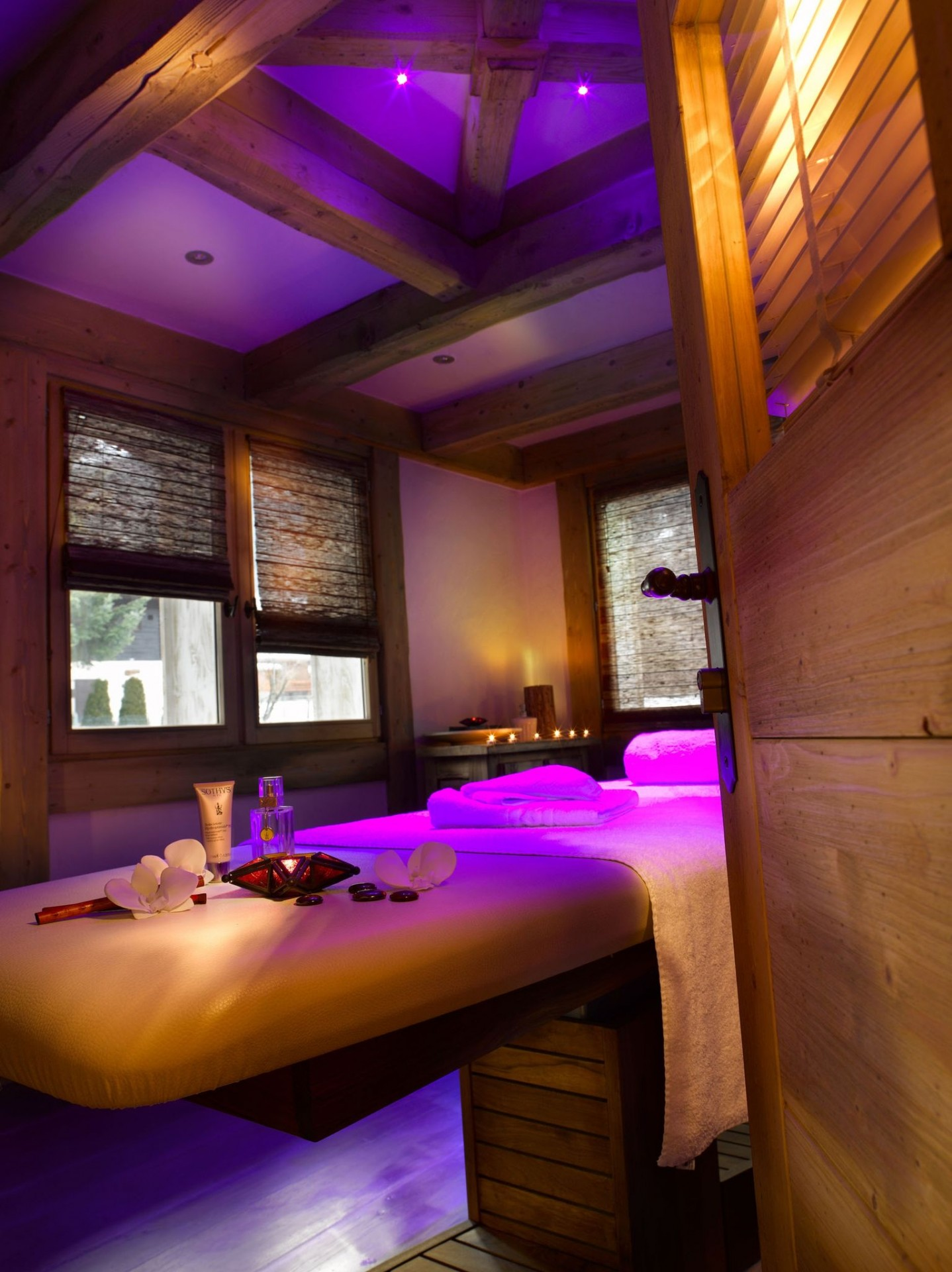 Les Houches Location Appartement Luxe Jacinthe Massage
