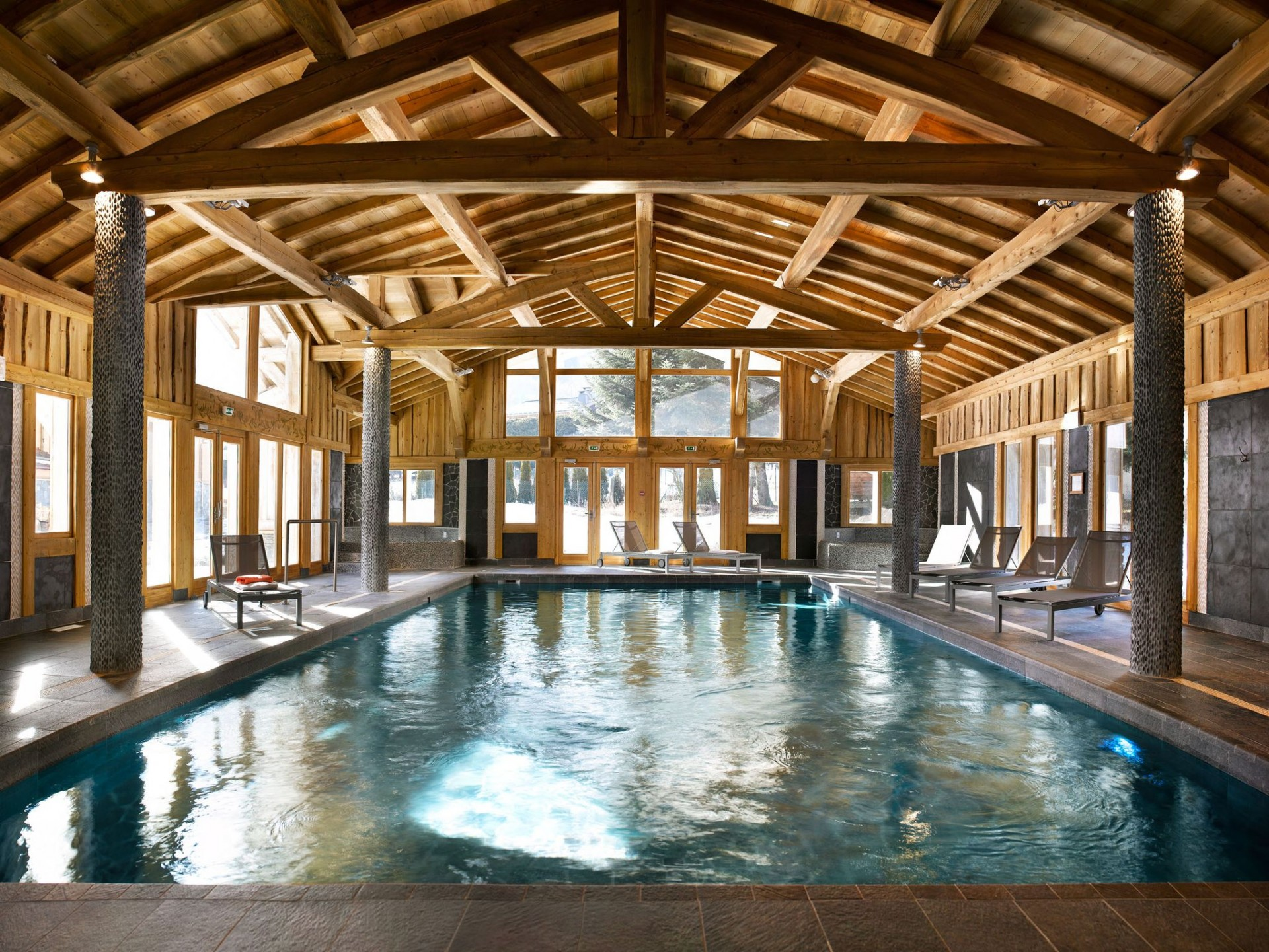 Les Houches Location Appartement Luxe Jacinthe Piscine