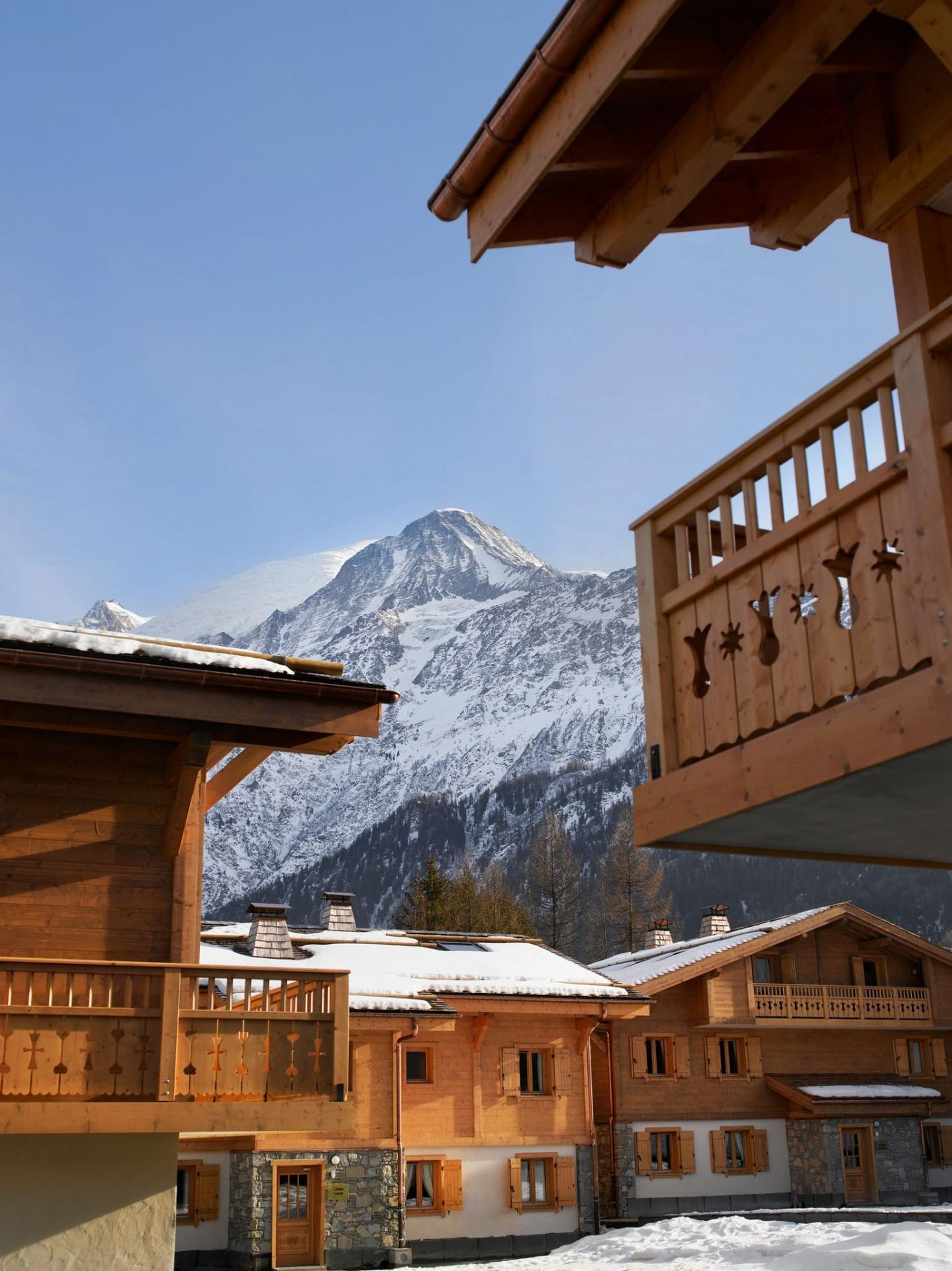 Les Houches Location Appartement Luxe Jacinthe Vue Montagne