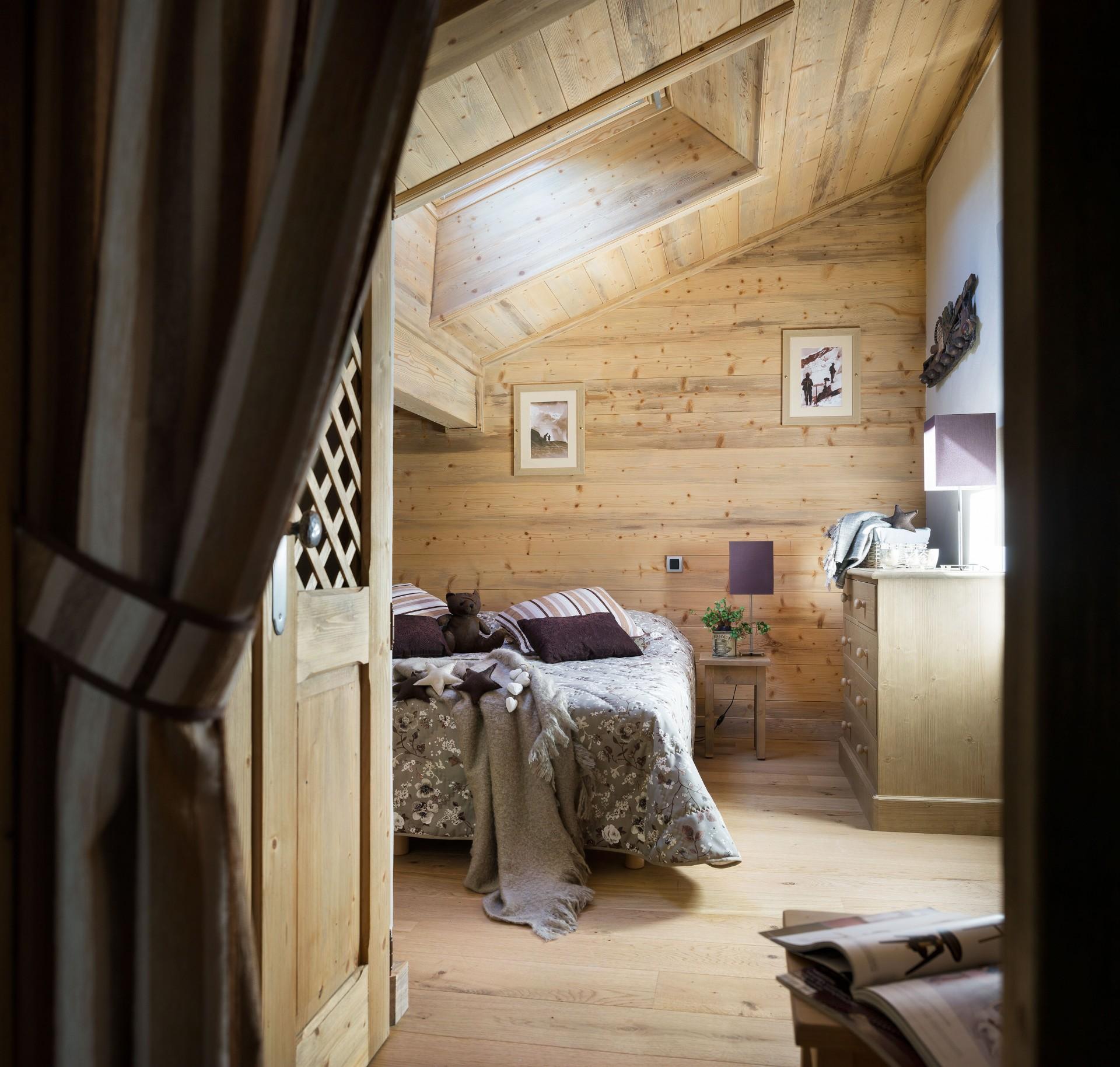 Les Houches Location Appartement Luxe Jais Chambre