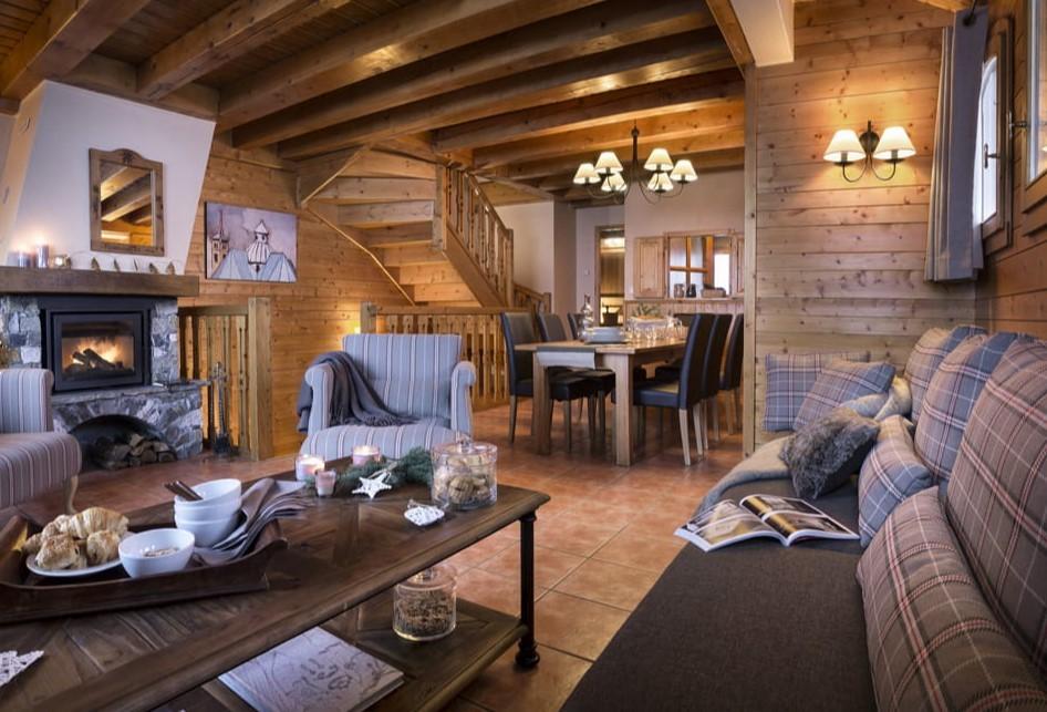 Les Menuires Luxury Rental Appartment Amino Living Room 2
