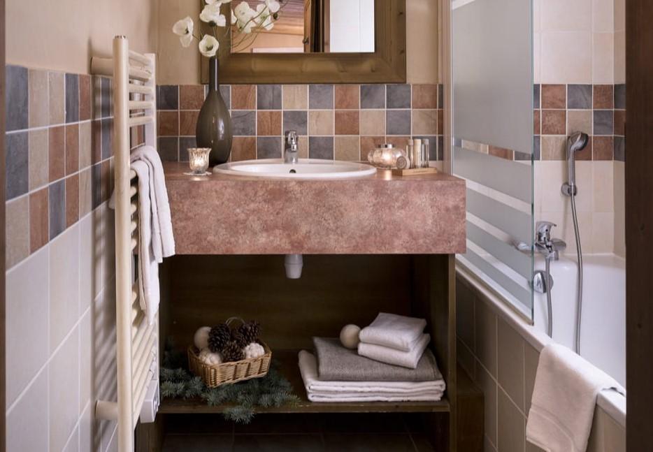 Les Menuires Luxury Rental Appartment Amuna Bathroom