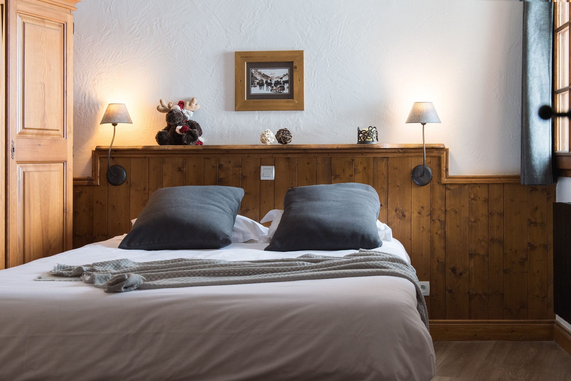 Les Menuires Location Appartement Luxe Armocine Chambre