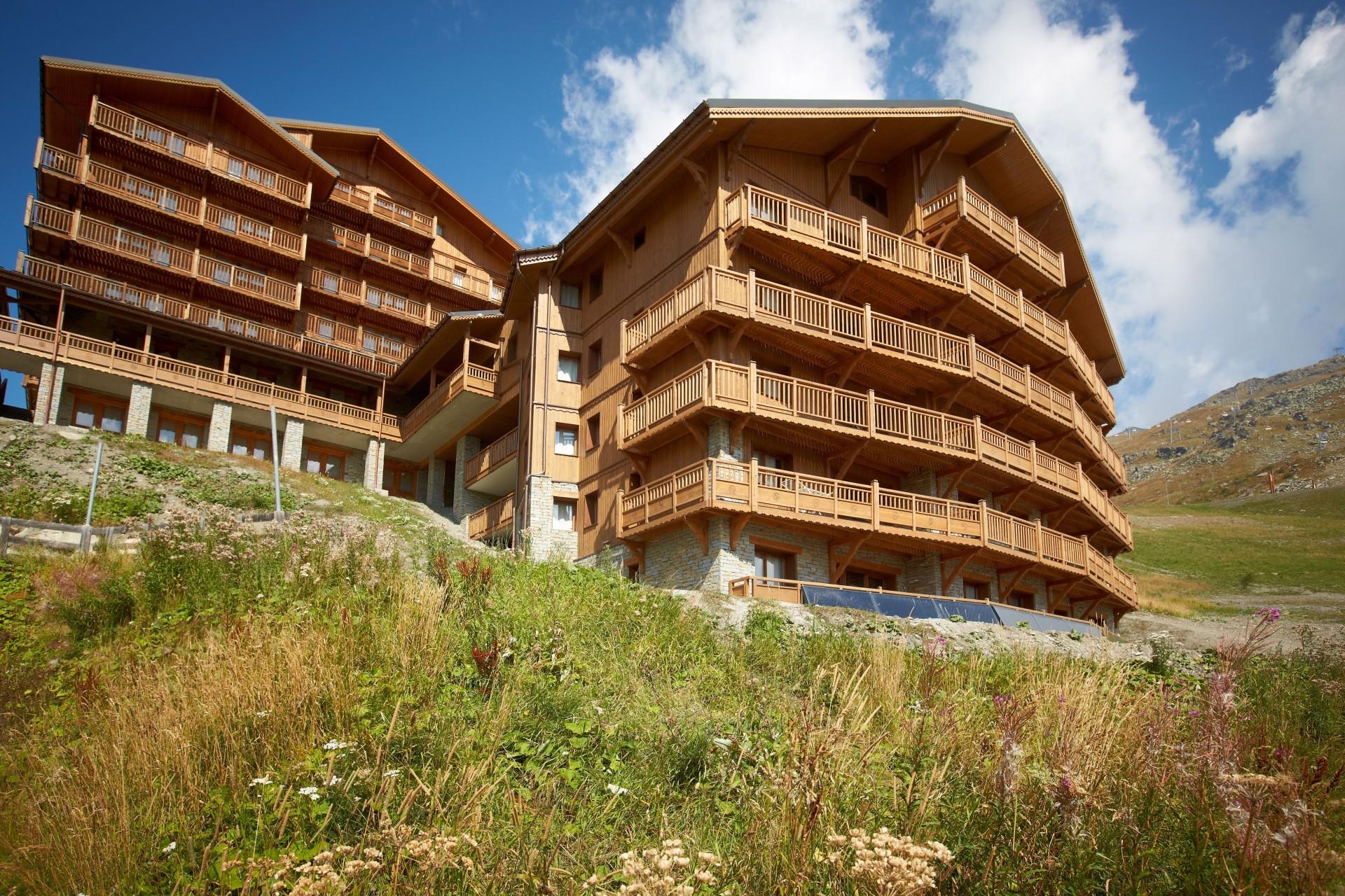 Les Menuires Location Appartement Luxe Calcire Extérieur