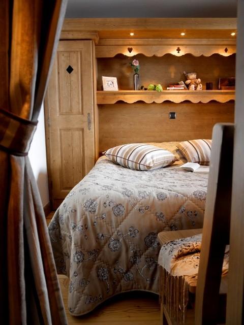 Les Menuires Location Appartement Dans Résidence Luxe Lapis Chambre