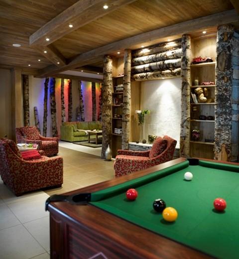 Les Menuires Location Appartement Dans Résidence Luxe Lapis Réception 1