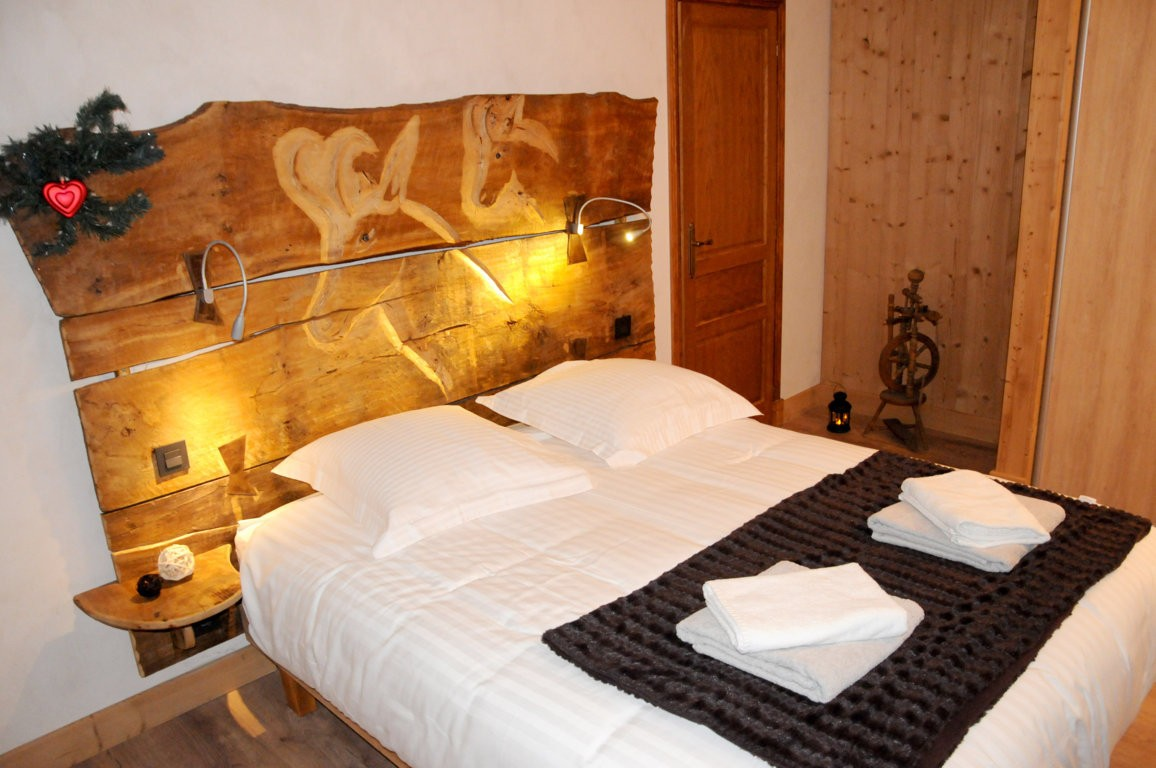 Les Menuires Location Chalet Luxe Lalinaire Chambre 2