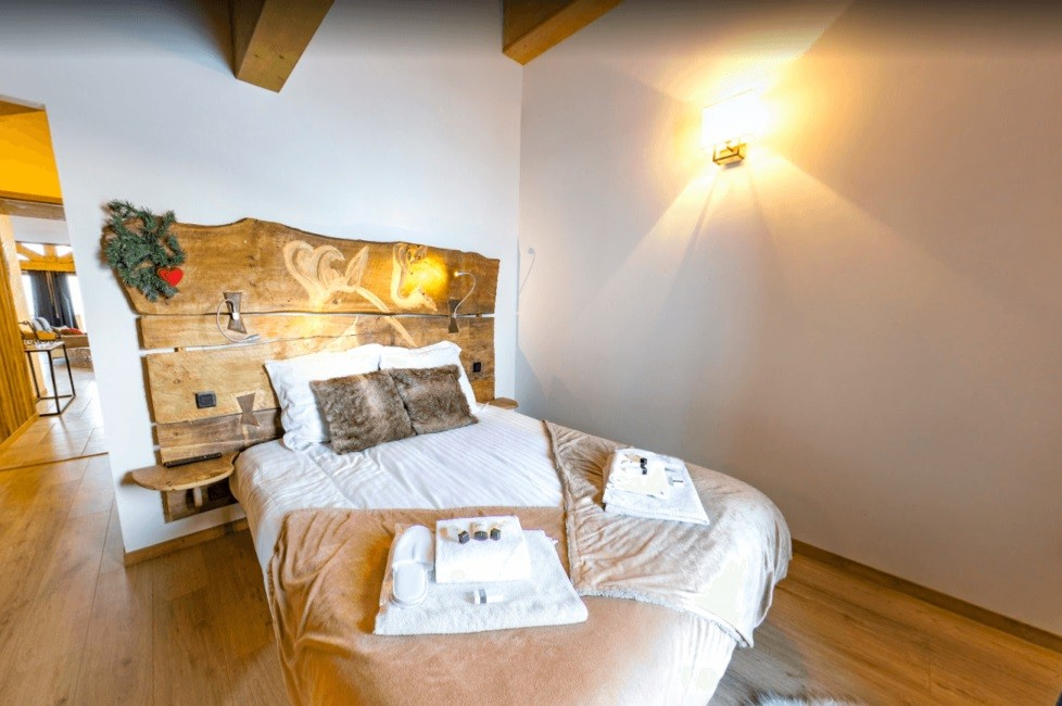 Les Menuires Location Chalet Luxe Lalinaire Chambre 4