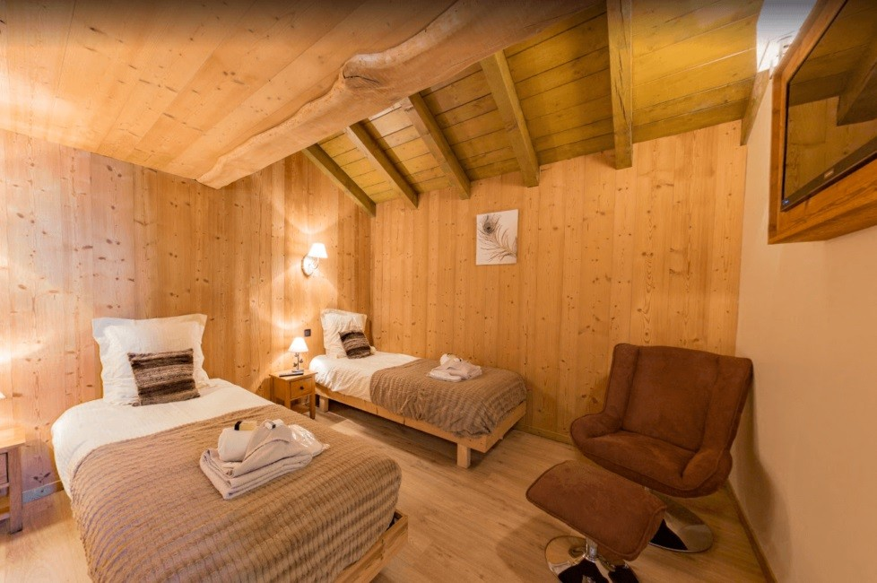 Les Menuires Location Chalet Luxe Lalinaire Chambre 6