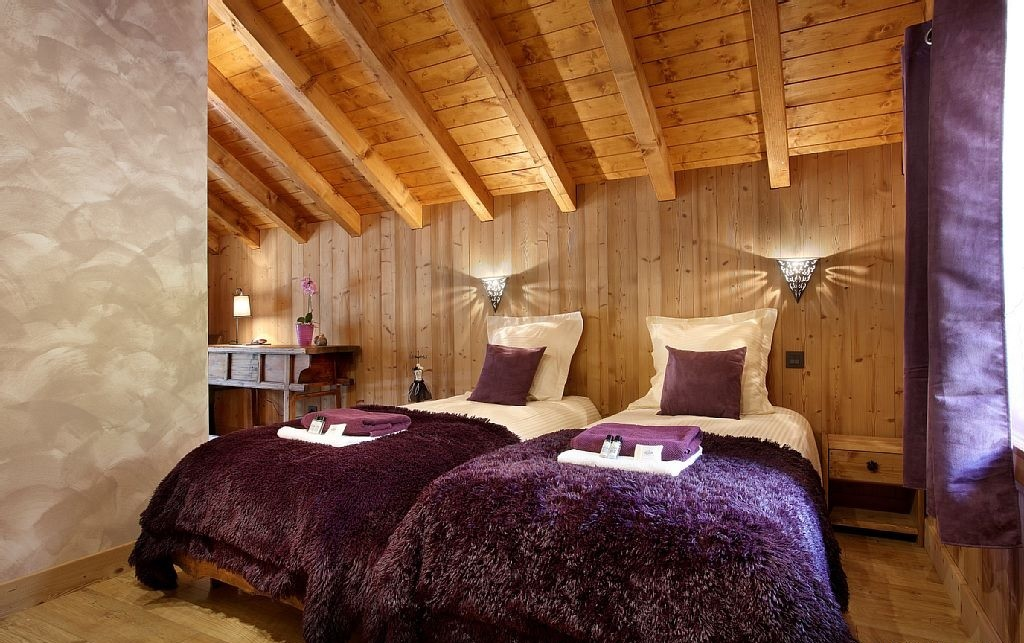 Les Menuires Luxury Rental Chalet Lanigrette Bedroom 4