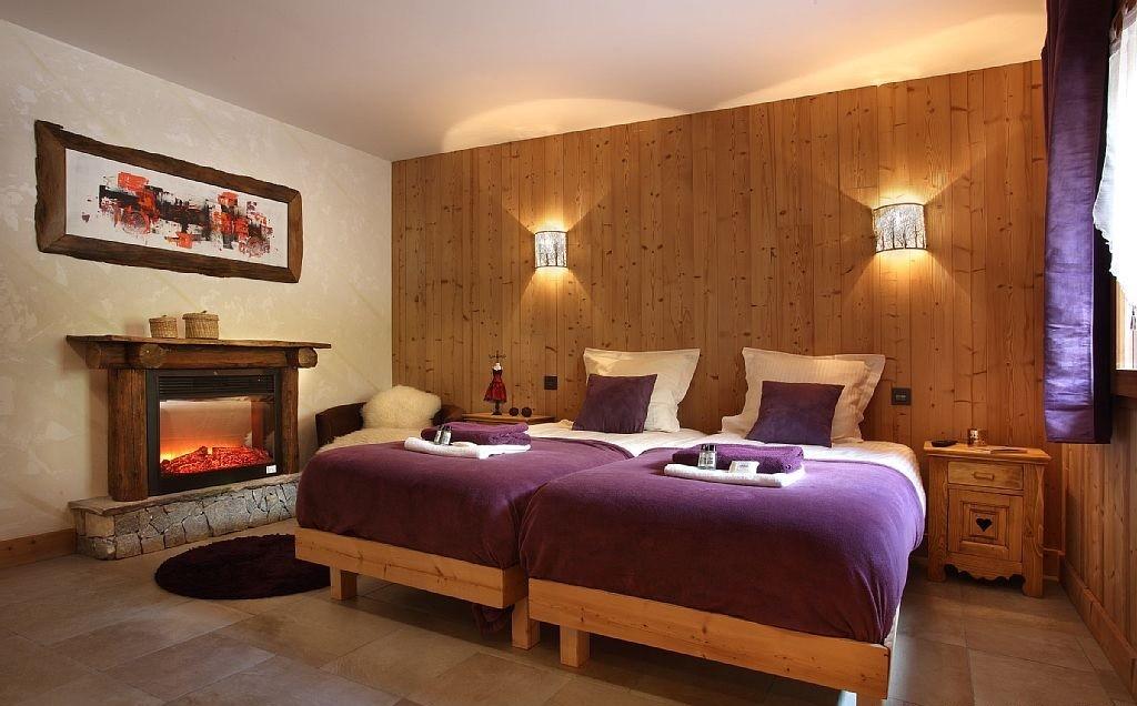 Les Menuires Luxury Rental Chalet Lanigrette Bedroom 5