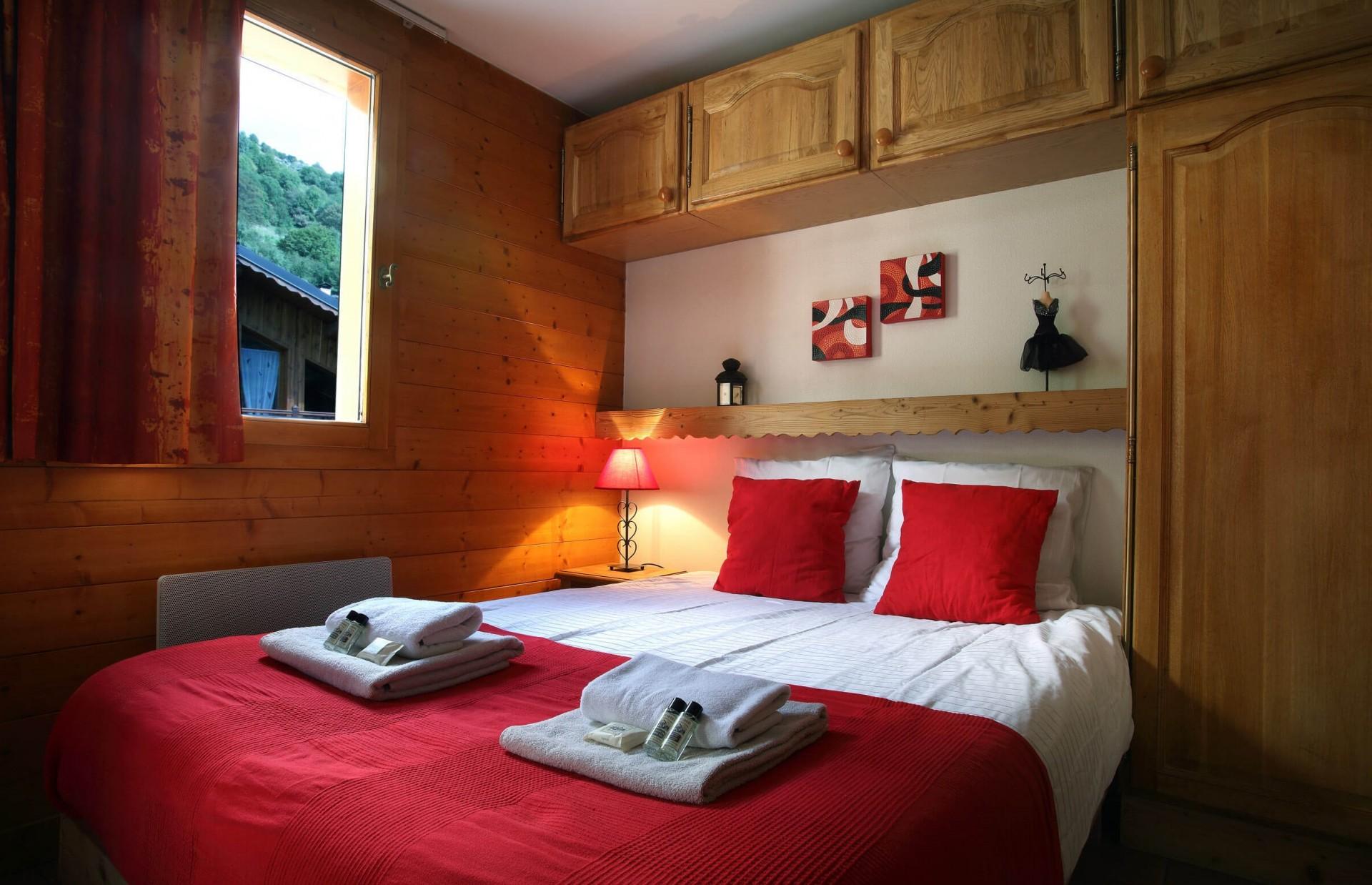 Les Menuires Location Chalet Luxe Lautite Chambre 4