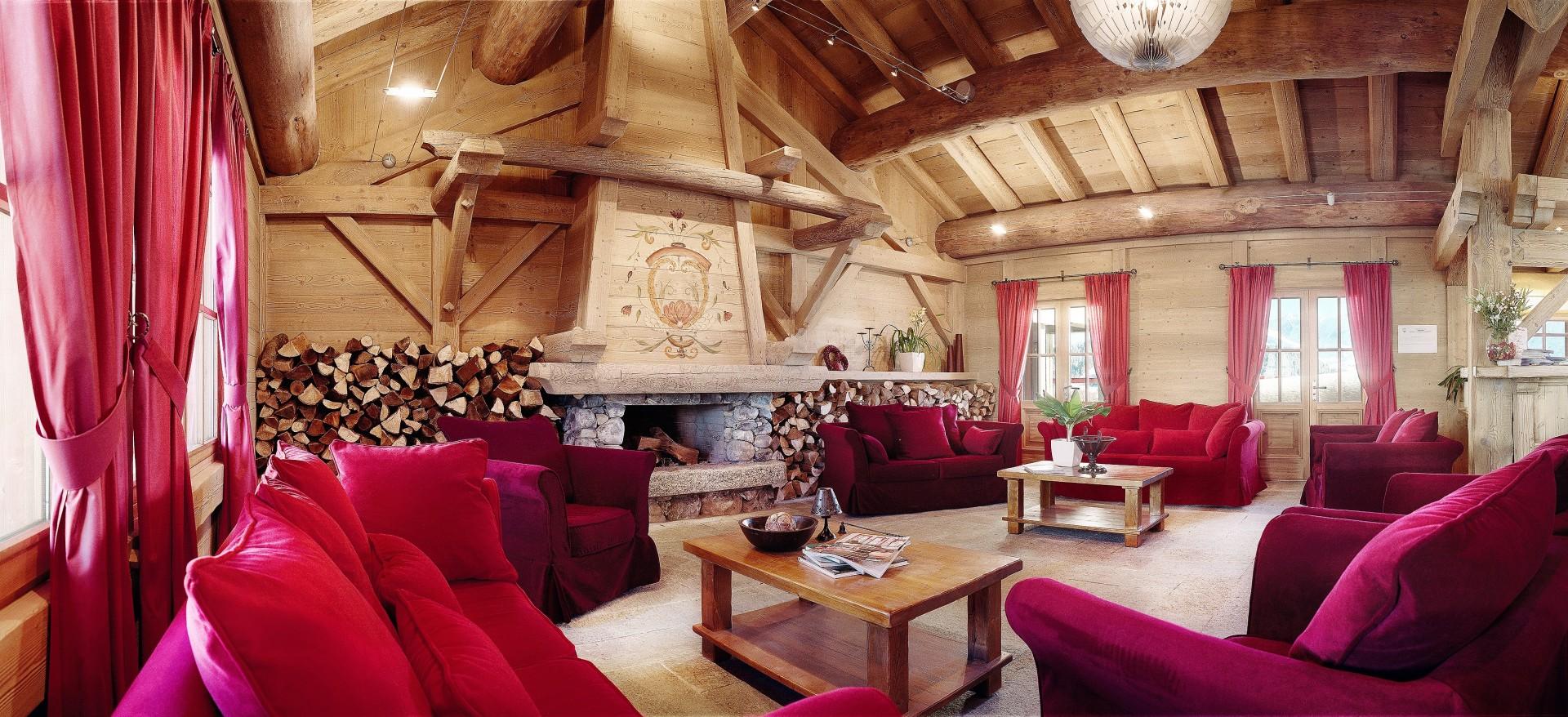 Les Saisies Location Appartement Luxe Lebercice Réception 1