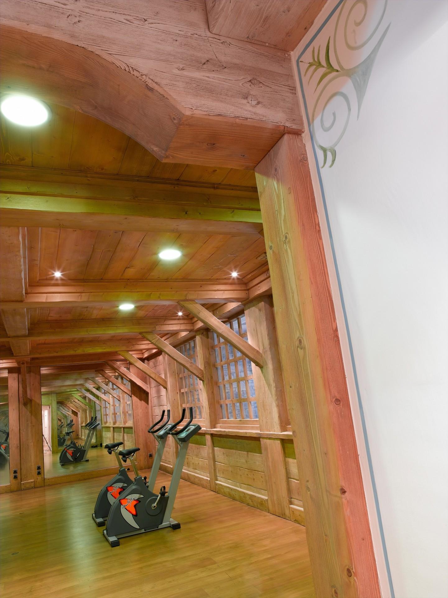 Les Saisies Location Appartement Luxe Leberka Salle De Fitness
