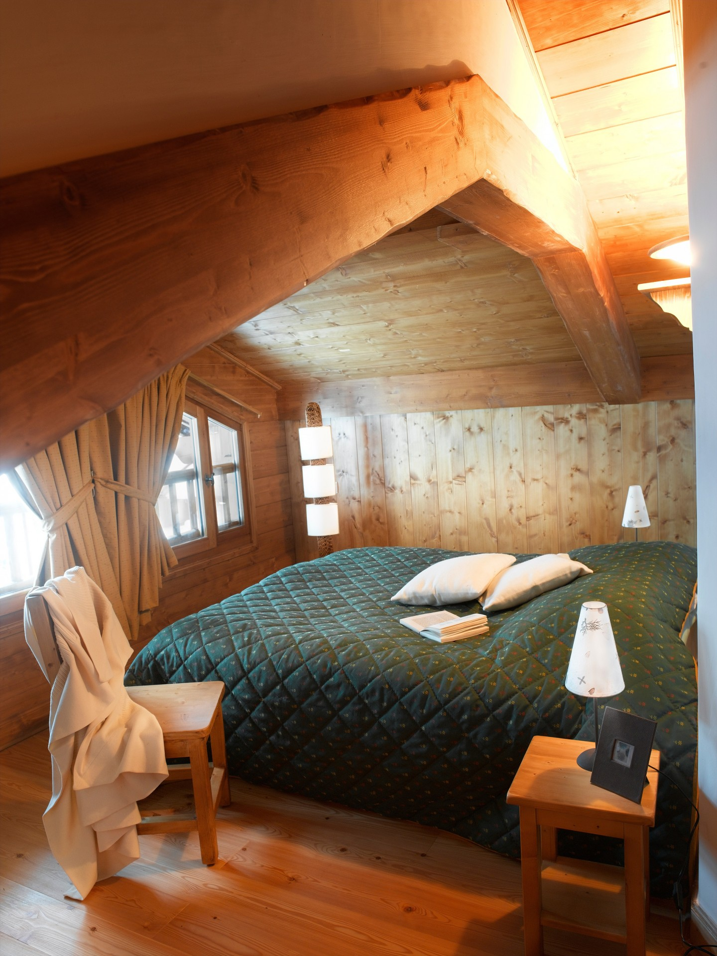 Les Saisies Location Appartement Luxe Leberstein Chambre