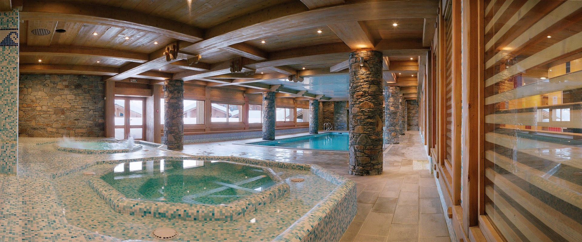 Les Saisies Location Appartement Luxe Leberstein Jacuzzi
