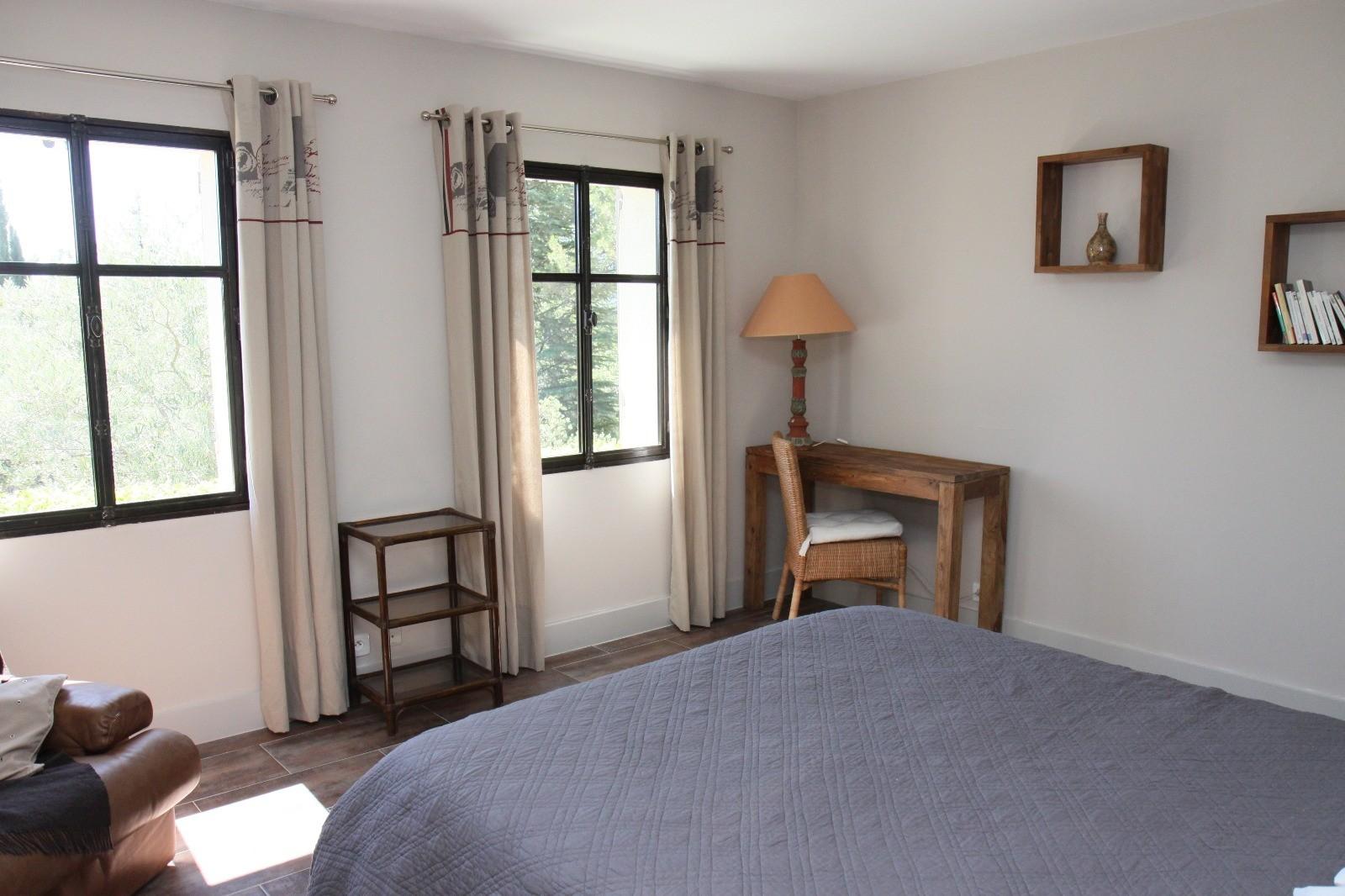 Luberon Location Villa Luxe Lime Chambre