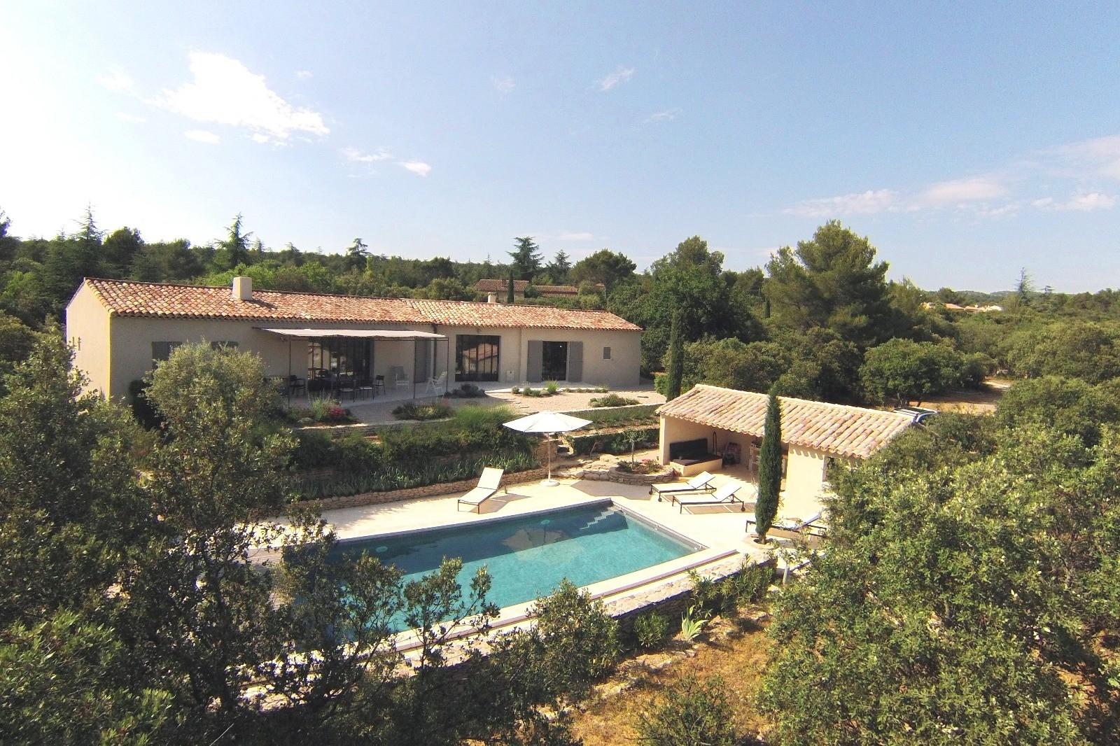 Luberon Location Villa Luxe Lime Extérieur