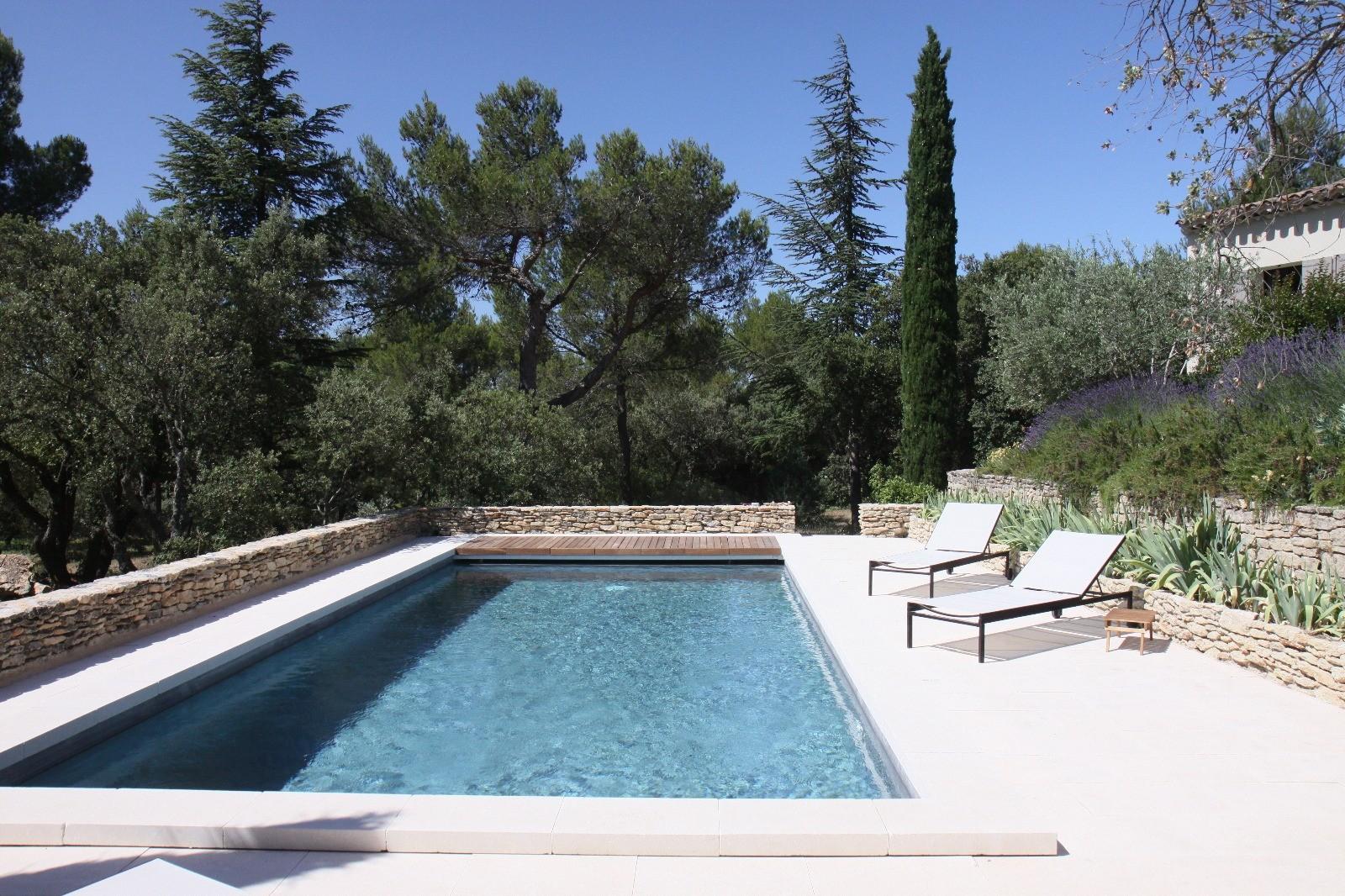 Luberon Location Villa Luxe Lime Piscine 2