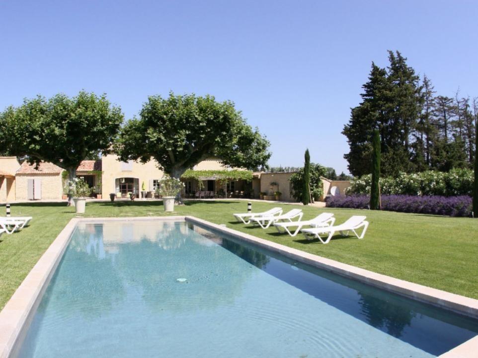 Luberon Luxury Rental Villa Limette Pool