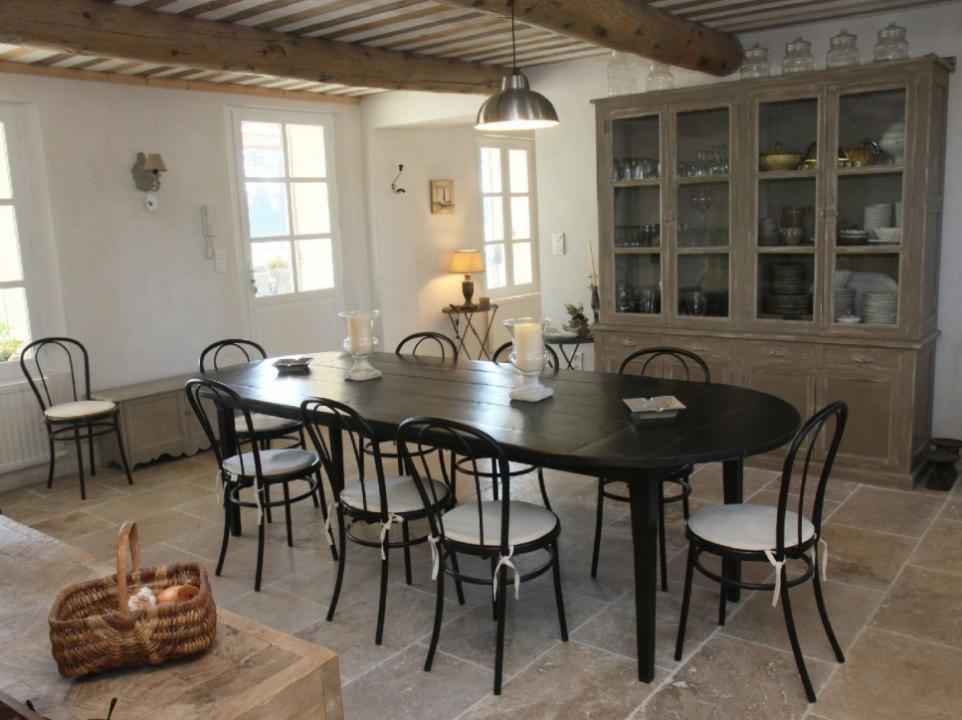 Luberon Luxury Rental Villa Limette Dining Room 2