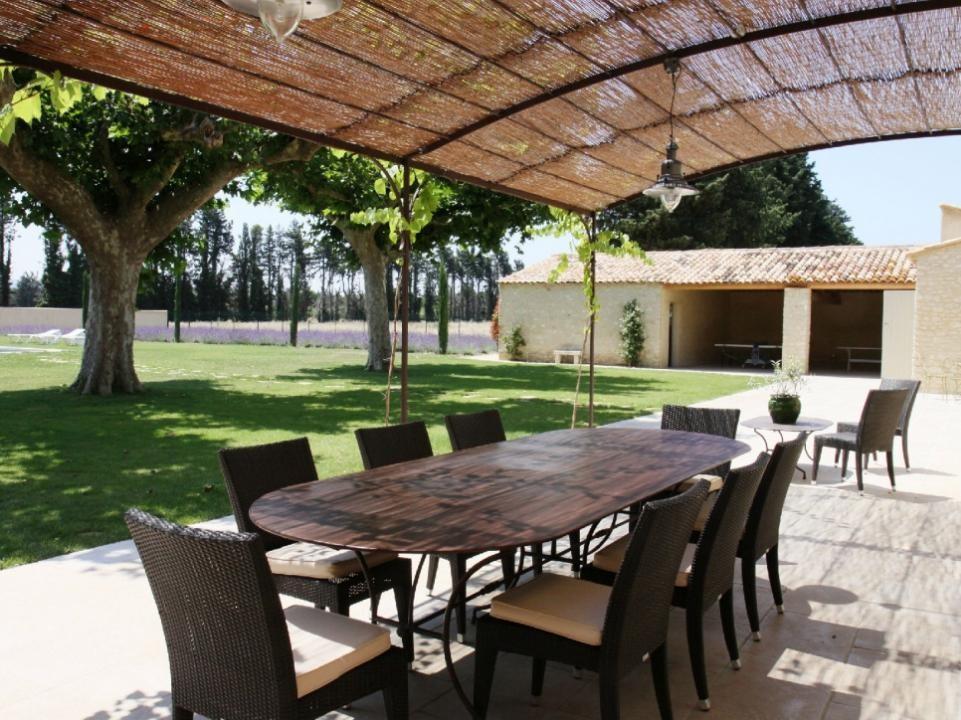 Luberon Luxury Rental Villa Limette Outdoor Dining Room
