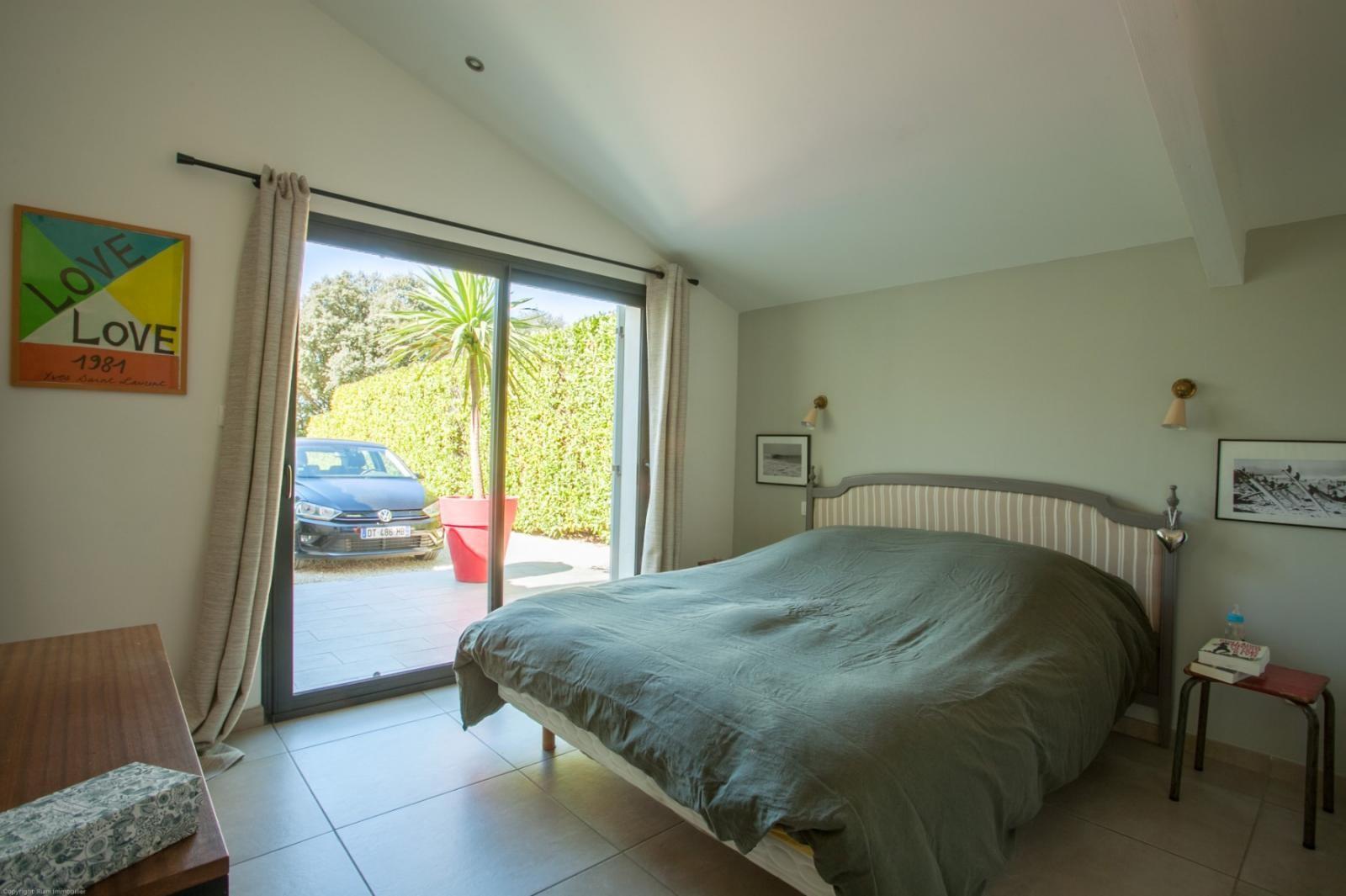 Luberon Location Villa Luxe Limutte Chambre