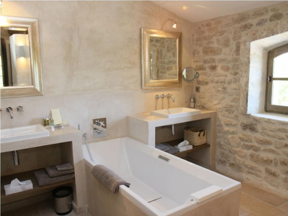 Luberon Luxury Rental Villa Lin Jaune Bathroom