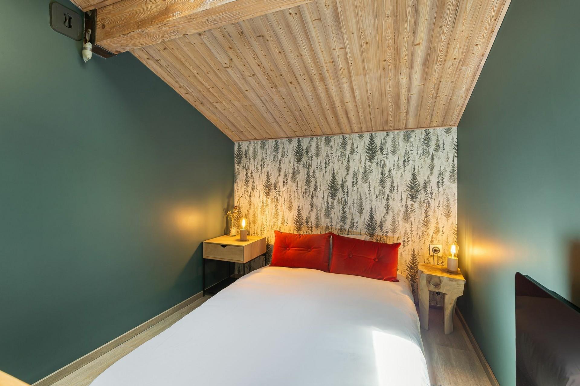 Megève Location Appartement Luxe Cabrute Chambre 4