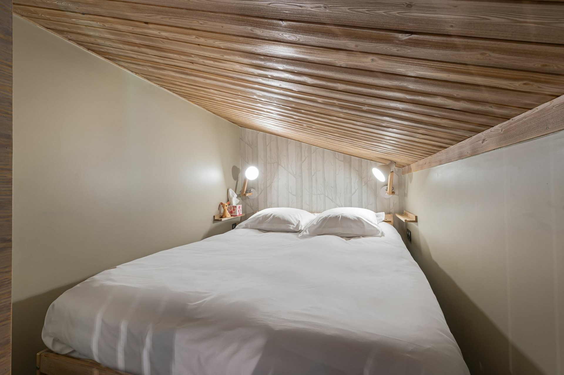 Megève Location Appartement Luxe Cabrute Chambre 6