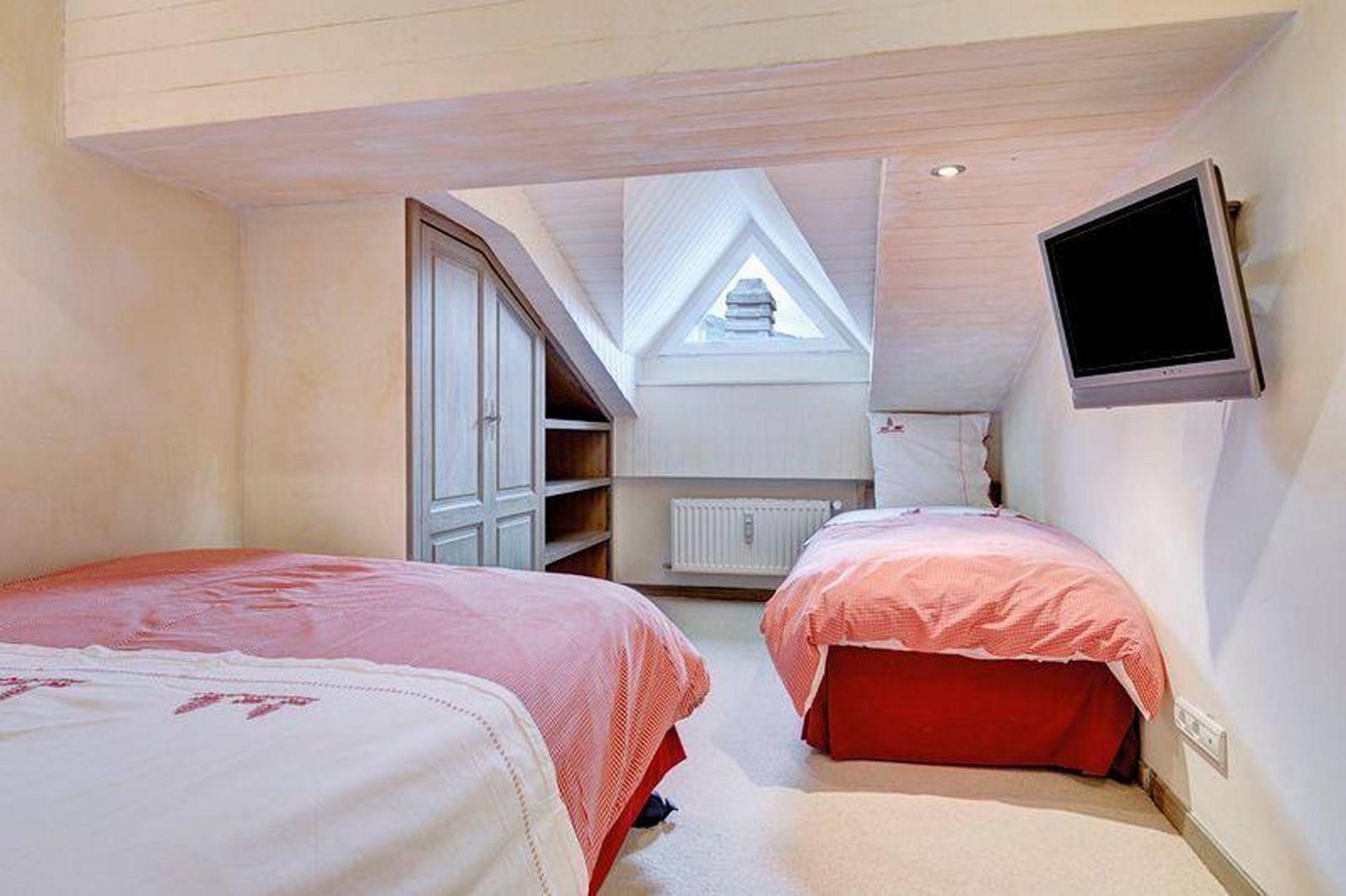 Megève Location Appartement Luxe Cafersite Chambre 3