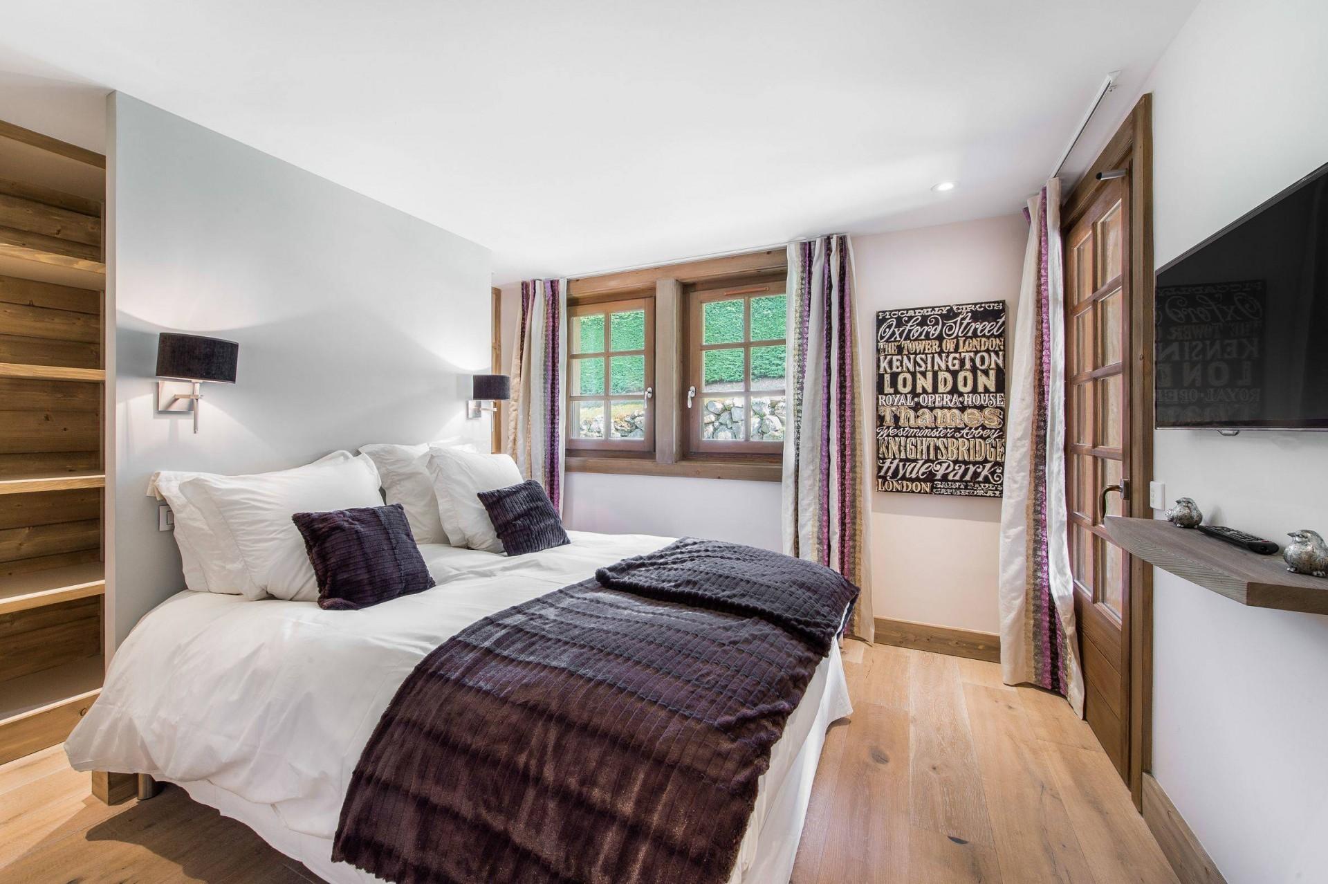 Megève Location Chalet Luxe Cajolines Chambre 2