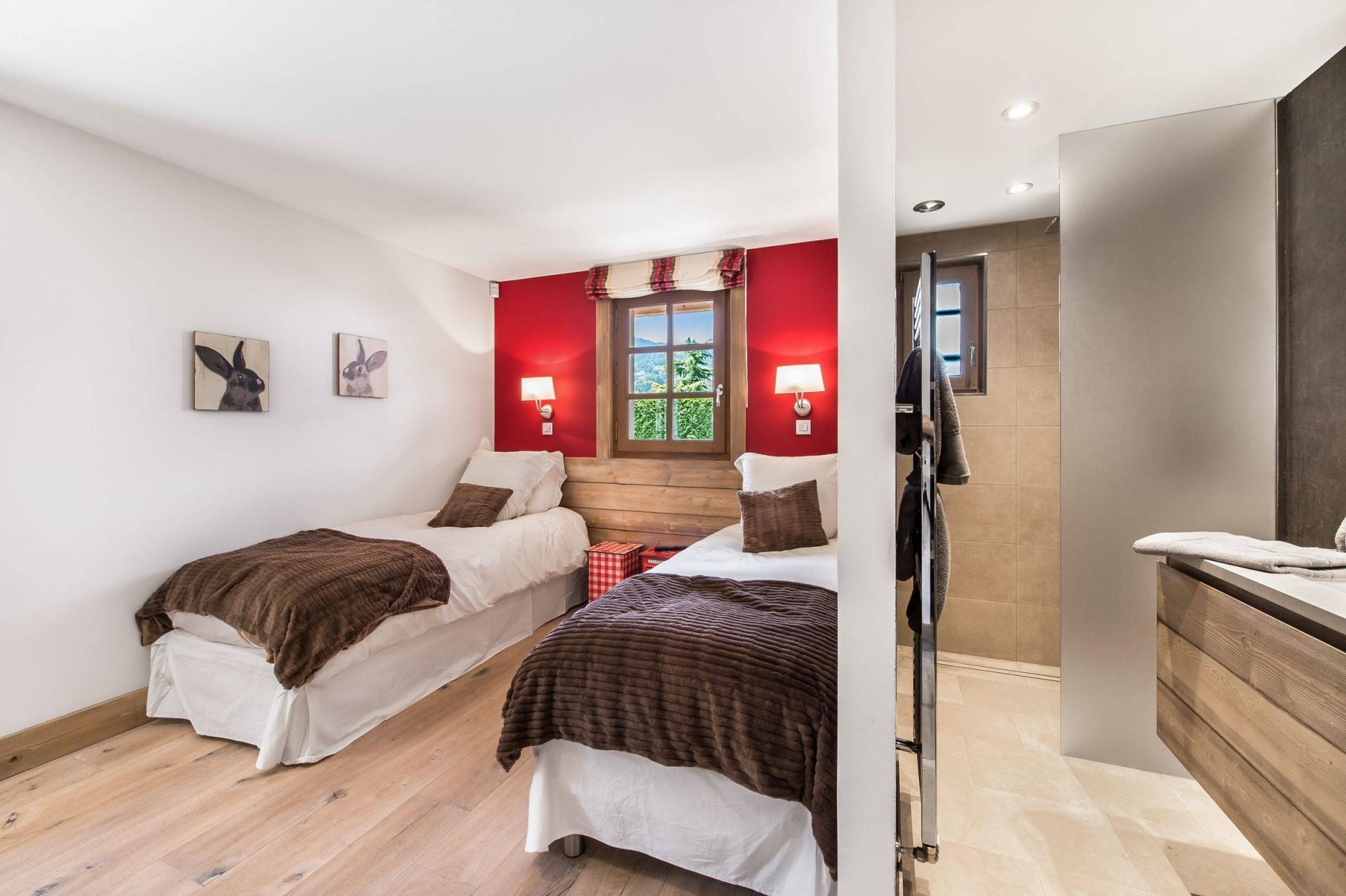 Megève Location Chalet Luxe Cajolines Chambre 4