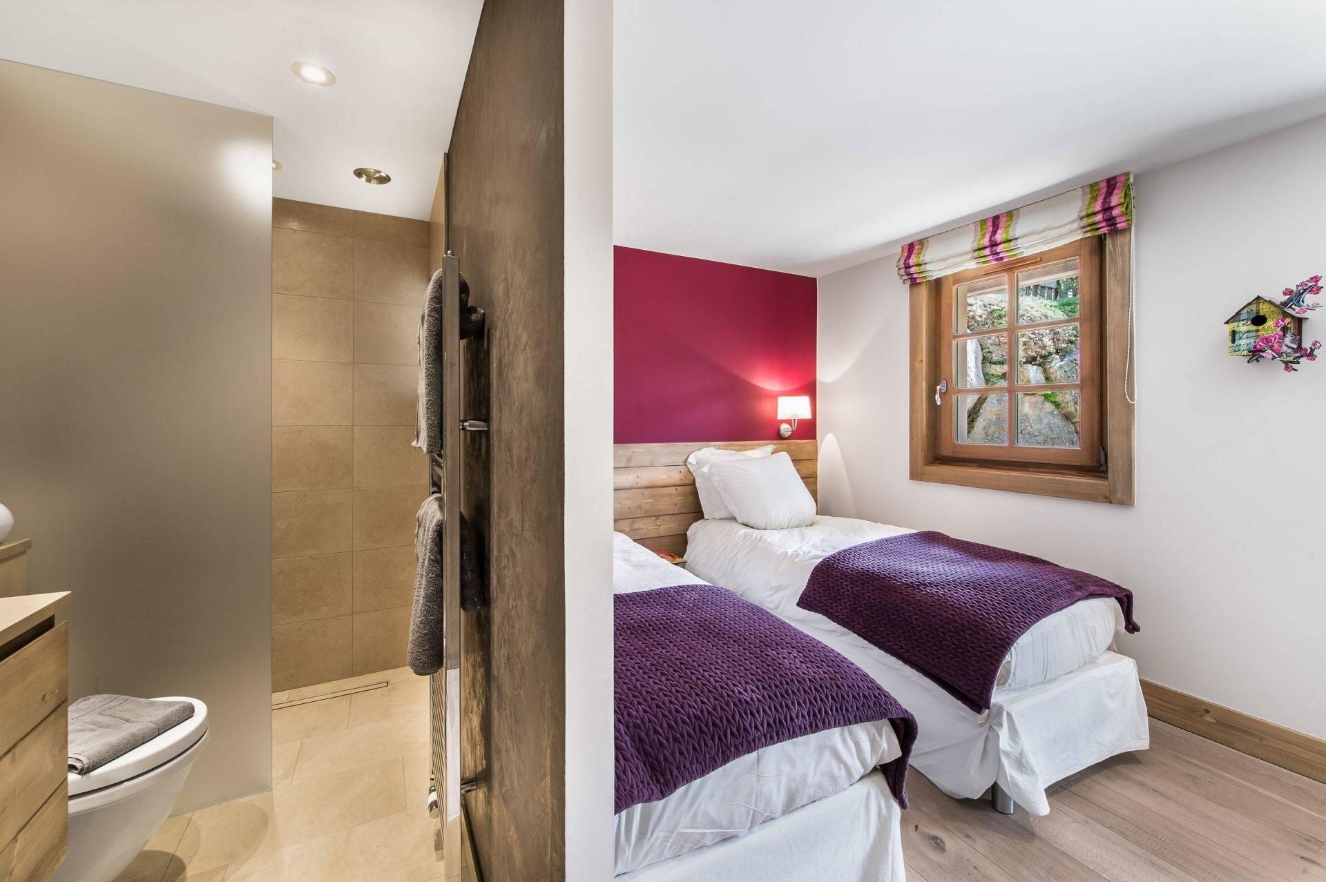 Megève Location Chalet Luxe Cajolines Chambre 5