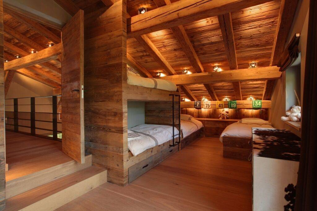 Megève Luxury Rental Chalet Cajuella Bedroom