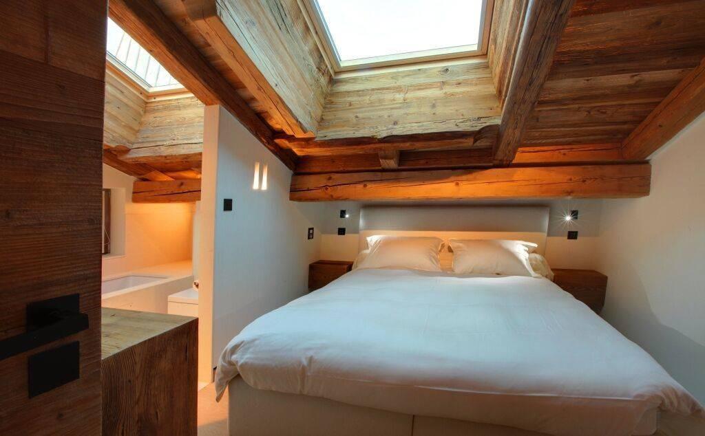 Megève Luxury Rental Chalet Cajuella Bedroom 4