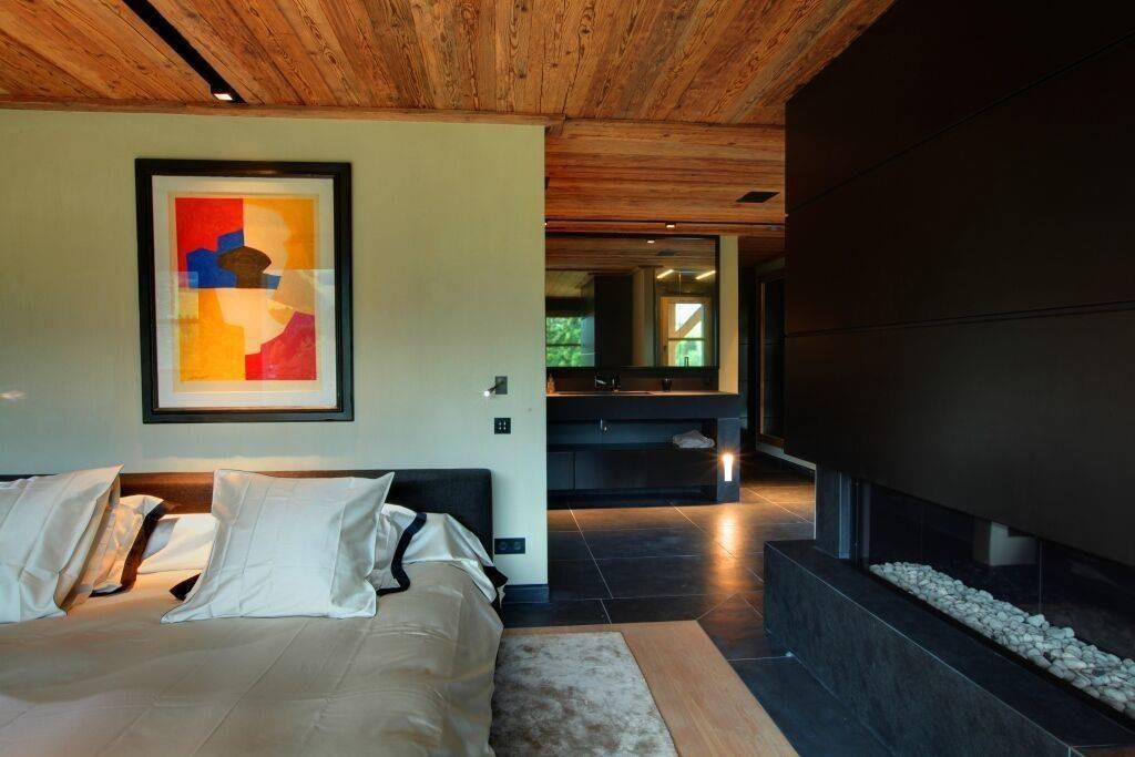 Megève Luxury Rental Chalet Cajuella Bedroom 8