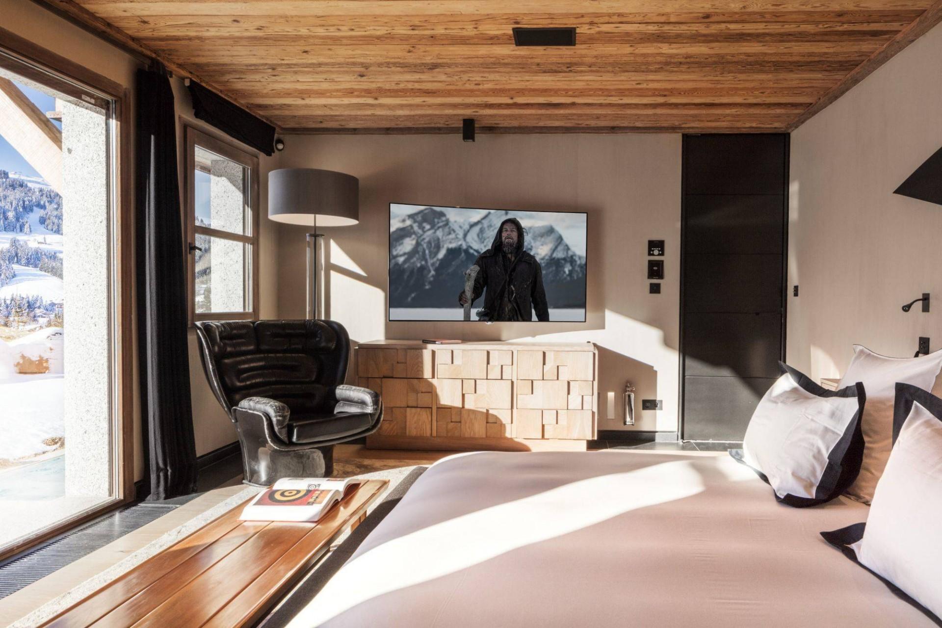 Megève Luxury Rental Chalet Cajuella Bedroom 9