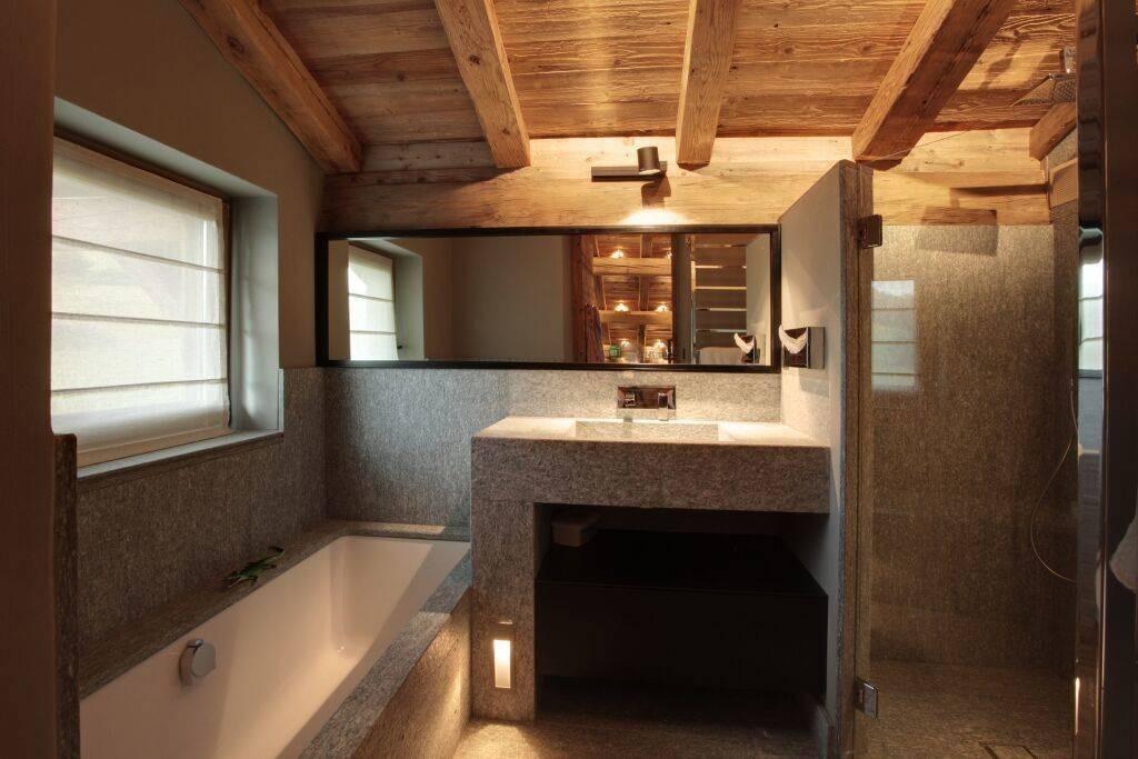 Megève Luxury Rental Chalet Cajuella Bathroom