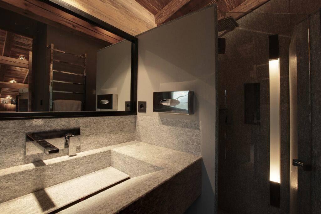 Megève Luxury Rental Chalet Cajuella Bathroom 2