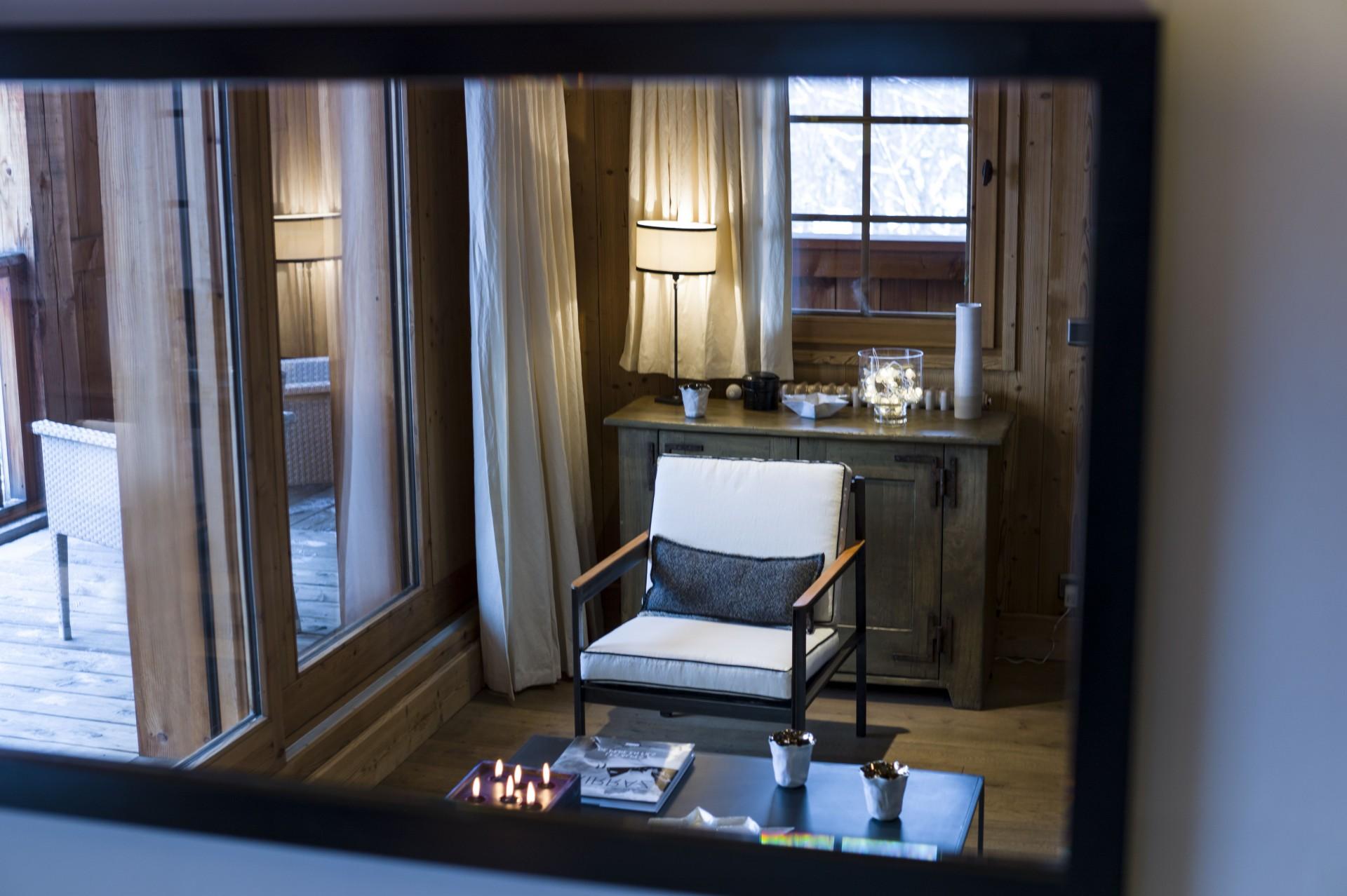 Megève Location Chalet Luxe Eye Of The World Salon 1