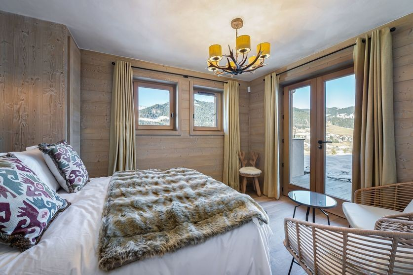Megève Luxury Rental Chalet Sesane Bedroom 3
