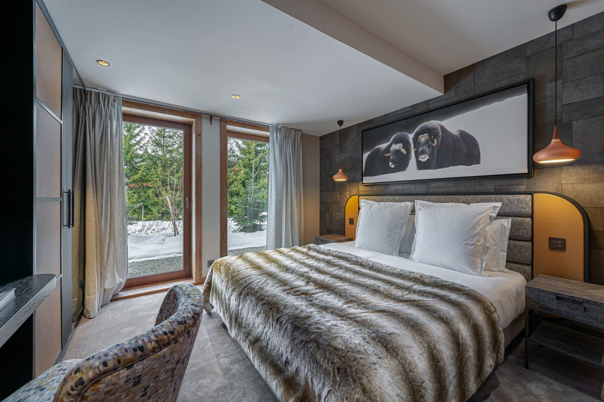Megève Luxury Rental Chalet Sesanity Bedroom 2