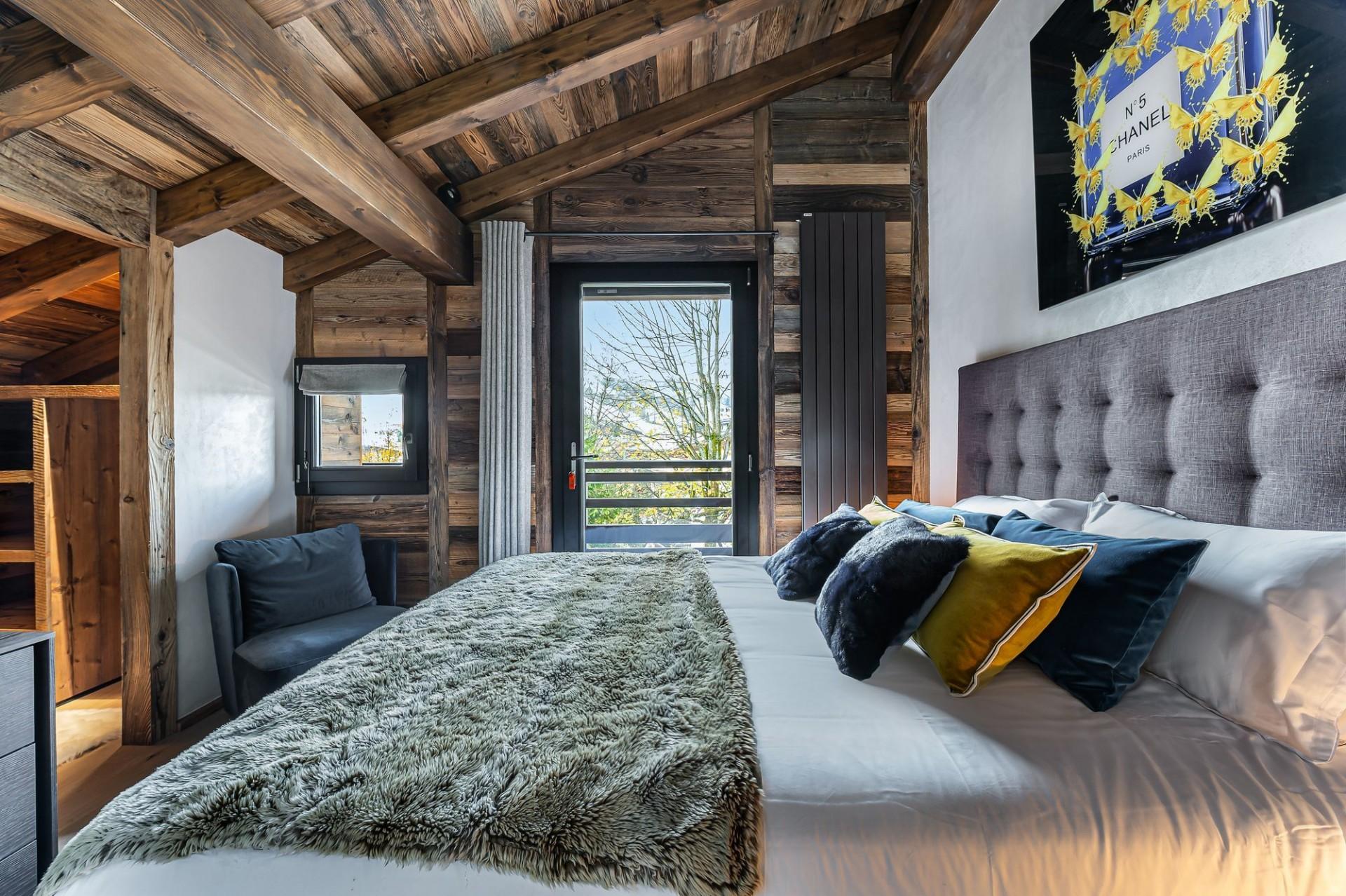 Megève Luxury Rental Chalet Sesune Bedroom 3