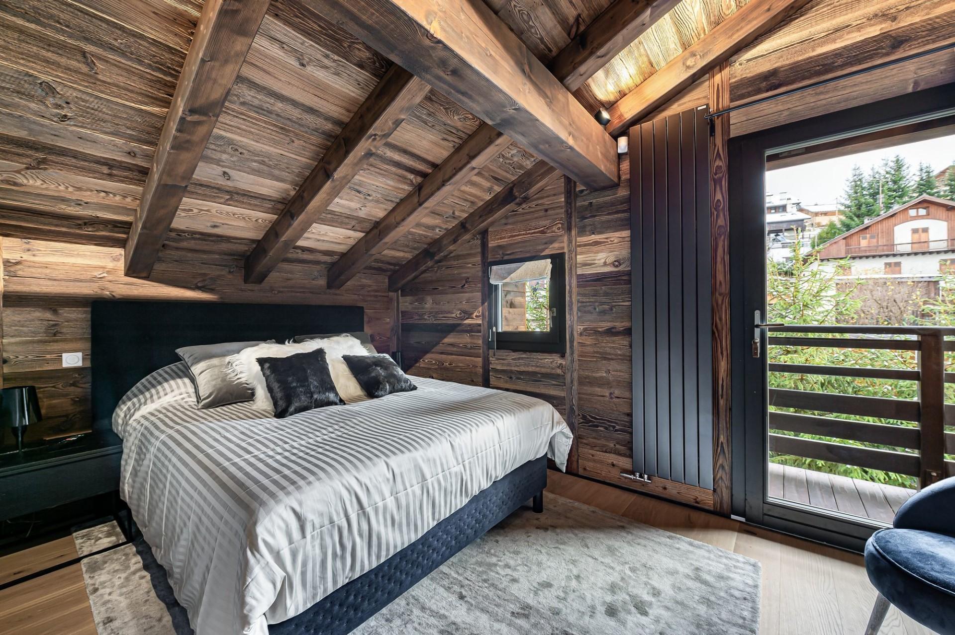 Megève Luxury Rental Chalet Sesune Bedroom 4