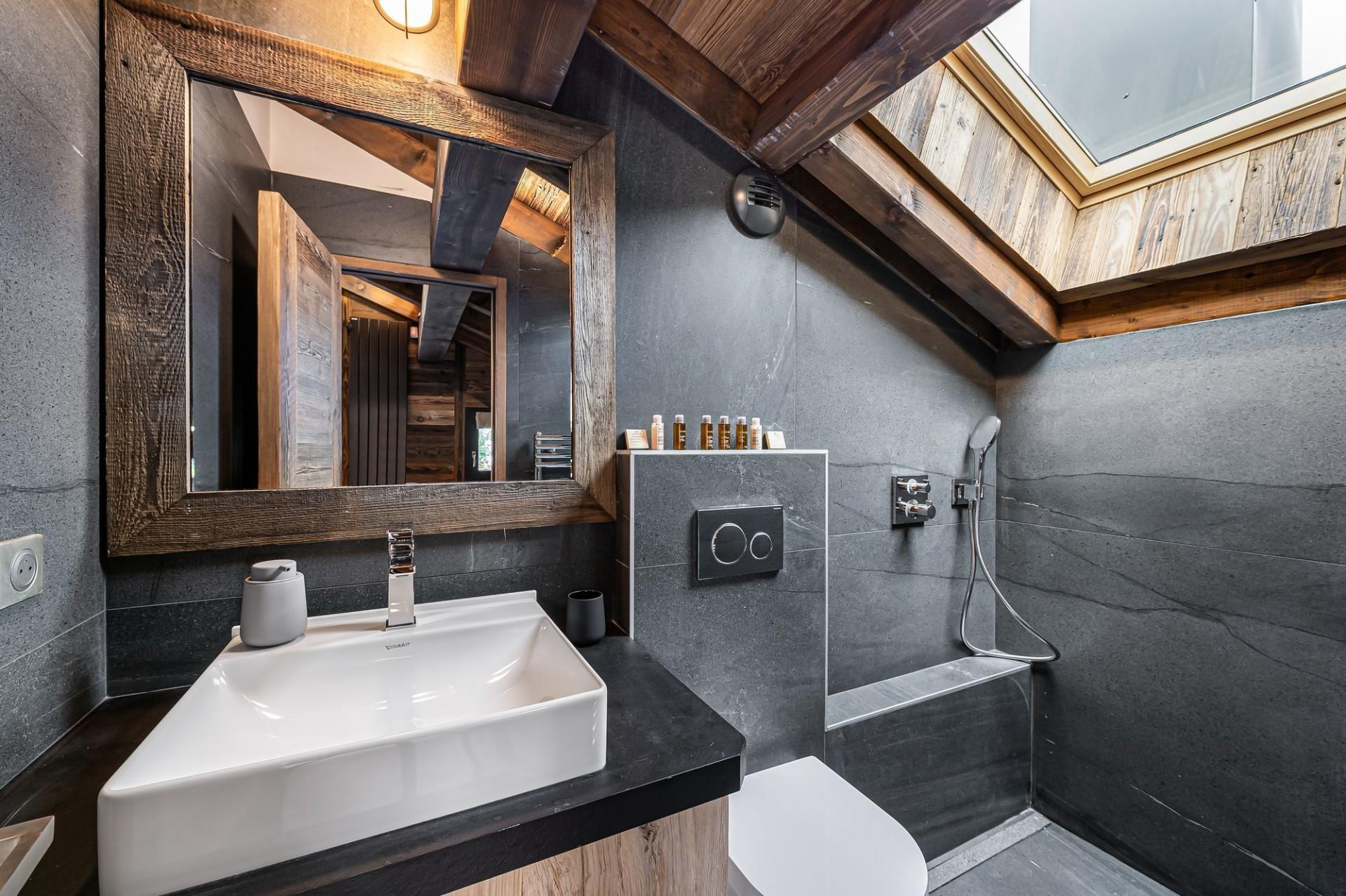 Megève Luxury Rental Chalet Sesune Shower Room 3